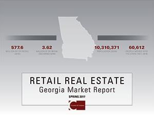 2017 Retail Report cover, GA